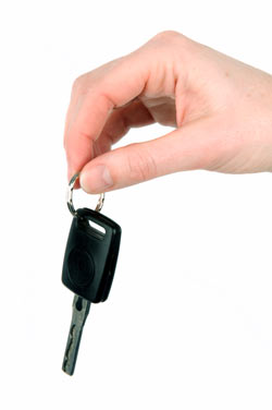 car rental key